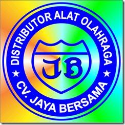 logo cv jaya bersama, logo distributor alat olahraga, logo agen alat olahraga