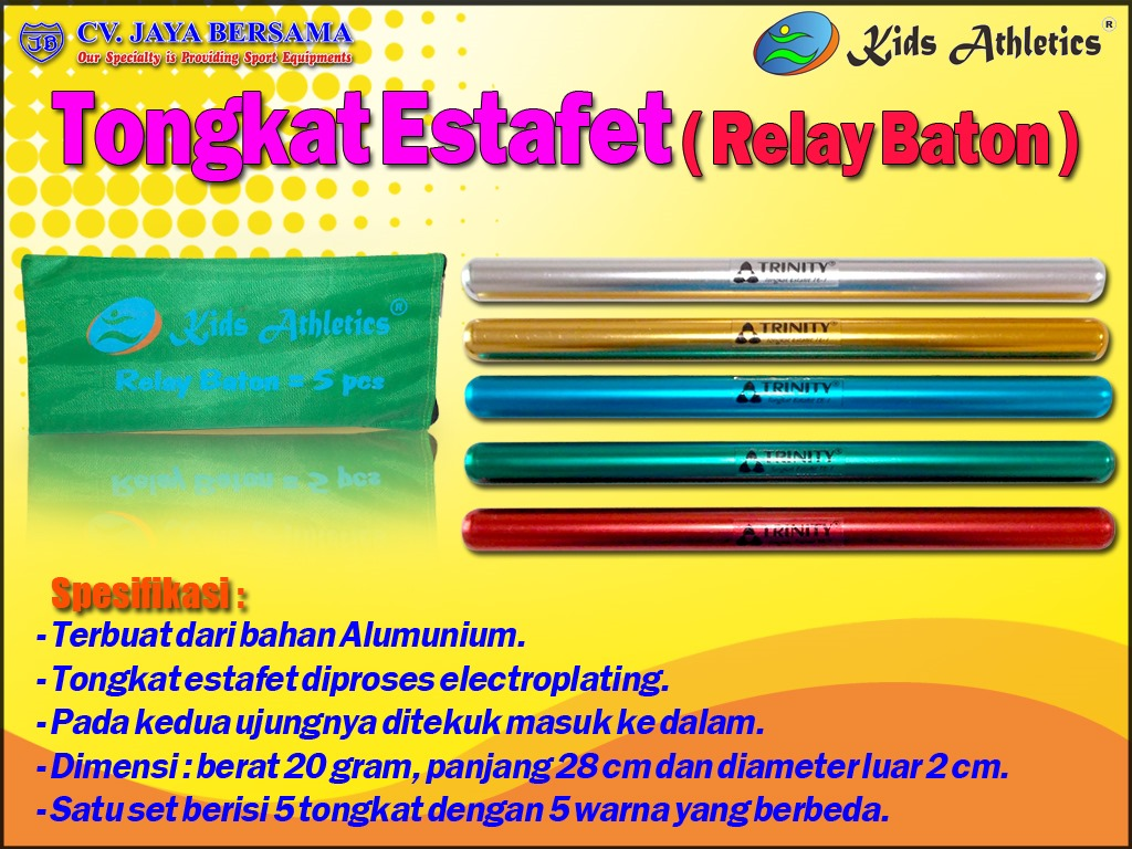 Tongkat Estafet Relay Baton